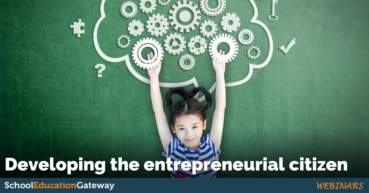Developing the entrepreneurial citizen