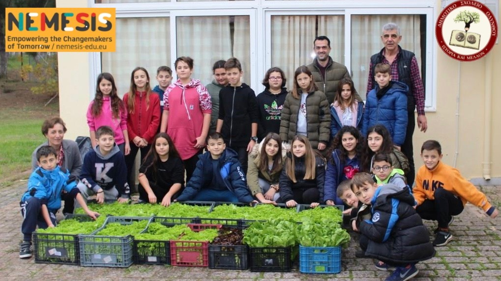 We give Love! – Olynthos Primary School, Greece