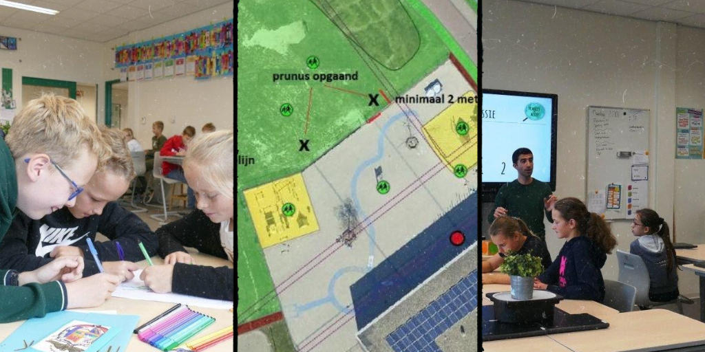 Co-created ideas and regreening the schoolyard – Basisschool Aventurijn, the Netherlands